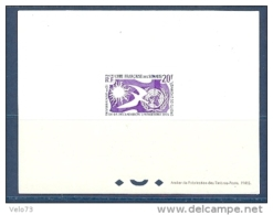 COTE DES SOMALIS N° 291 EN EPREUVE DE LUXE - Storia Postale