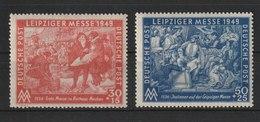Leipziger Frühjahrsmesse  /  MiNr.: 230, 231 - Soviet Zone