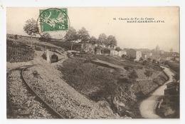 42 Saint Germain Laval, Chemin De Fer Du Centre. Carte Inédite (A2p56) - Saint Germain Laval