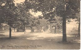 Pesche - CPA - Etablissement Des Filles De Marie - Cour De Notre-Dame Du Sacré Coeur - België