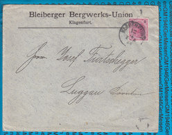 Austria Couvert Klagenfurt 1896 - Covers & Documents