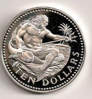Barbades - 10 Dollars Argent Silver 1976 - Barbados
