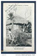 NOUVELLE CALEDONIE MISSIONNAIRE EN TOURNEE CARTE ECRITE - Nouvelle-Calédonie