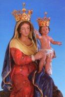 Siderno Superiore RC - Santino Cartolina MARIA SS. DELL'ARCO - PERFETTO P52 - Religion & Esotericism
