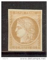 N° 1f REIMPRESSION DE 1862 SIGNE CALVES  TTB * - 1849-1850 Cérès