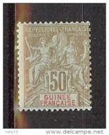 GUINEE N° 17 * - Neufs