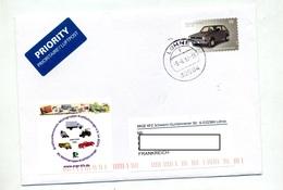 Lettre  Cachet Lohne Sur Voiture - [7] Federal Republic