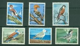 Cyprus: 1969   Birds Of Cyprus   MH - Nuovi