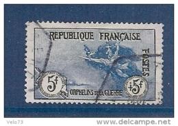 N° 155 ORPHELIN OBLITERE TTB - France