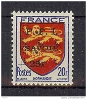 CHAMBERY N° 6C * CHARNIERE TRES LEGERE - Libération