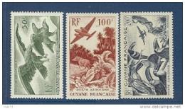 GUYANE PA 35/37 FAUNE ** - Guyane Française (1886-1949)