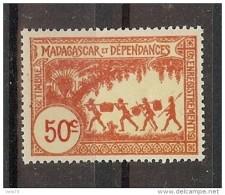 MADAGASCAR TIMBRE FISCAL 50c * - Autres