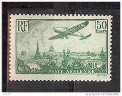 PA 14 50F VERT * TTB TRES LEGERE ADHERENCE - Airmail