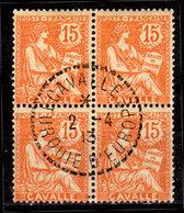 Cavalla-010 - Emissione 1902-11 (o) Used - Senza Difetti Occulti. - Oblitérés