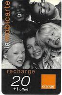 @+ Recharge Orange De La Réunion - 20€. Date 12/05 (novembe 2001) - Reunion