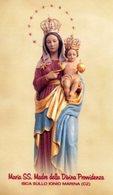 Marina Di Isca Sullo Ionio CZ - Santino MARIA SS. MADRE DELLA DIVINA PROVVIDENZA - PERFETTO P52 - Religion & Esotericism