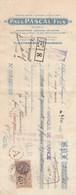 VILLEFRANCHE DE ROUERGUE - AVEYRON - PAUL PASCAL - ALIMENTATION GENERALE-           TDA103A - Bills Of Exchange