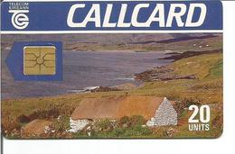 Télécarte D'IRLANDE - Paysage ( Telecom Eireann - 20 U - GEM ) - Irlande