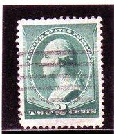 B - 1887 Stati Uniti - George Washington - Usati
