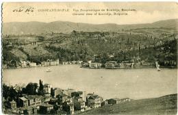 TURKYE  TURKIYE  TURCHIA  CONSTANTINOPLE  Vue Panoramique De Konlidja  Bosphore  Franchise Postale Militaire - Turchia