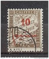 MAROC TAXE N° 11 OBLITERE - Maroc (1891-1956)