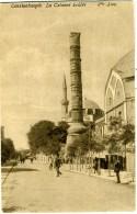 TURKYE  TURKIYE  TURCHIA  COSTANTINOPLE  La Colonne Brûlée - Turchia