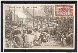 CONGO FRANCAIS CARAVANE DE PORTEURS - Congo Français - Autres