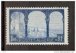 ALGERIE N° 83c VARIETE ARBRE COUPE * - Algérie (1924-1962)