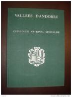 CATALOGUE NATIONAL SPECIALISE D'ANDORRE DE MAURY DE 1978 TTB - Cataloghi