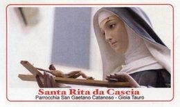 Gioia Tauro RC - Santino SANTA RITA DA CASCIA - PERFETTO P52 - Religione & Esoterismo