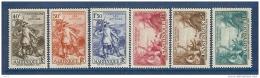 MARTINIQUE N° 155/160 TRICENTENAIRE DU RATTACHEMENT * - Martinique (1886-1947)
