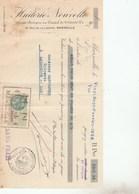 MARSEILLE - HUILERIE NOUVELLE - 1928 -                                                           TDA103A - Bills Of Exchange