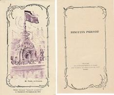 BISCUIT PERNOT - EXPO. Universelle 1900 - Pavillon Louis XV Modernisé - - Documents Historiques