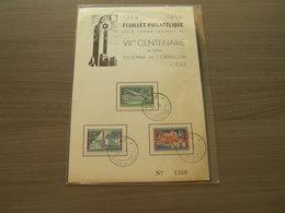 BELG.1958 7e CENTENAIRE DE SAINTE JULIENNE DE CORNILLON LIEGE - FDC