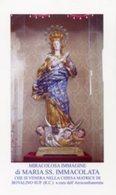 Bovalino Superiore RC - Santino MARIA SS. IMMACOLATA - PERFETTO P52 - Religion & Esotericism