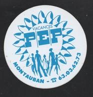 PEP VACANCES MONTAUBAN - AUTOCOLLANT REF: 090 - Stickers