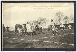 RUGBY FINALE CHAMPIONNAT DE FRANCE DE 1909 ARRET DE DRIBLING PAR TOULOUSE - Rugby