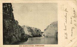 THE MARBLE ROCKS JUBBULPORE     INDIA  INDIEN - India
