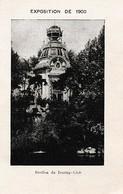 EXPOSITION De  1900 - Pavillon Du TOURING-CLUB - 4 Pages - Documents Historiques