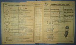 Planches D'Instructions Pour Retroprojecteur-Train Auto-France 40 - Documents