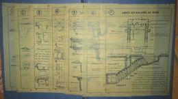 Planches D'Instructions Pour Retroprojecteur-Retranchements-France 40 - Documents