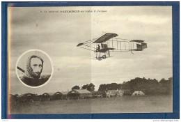 UN BEAU VOL DE LEGAGNEUX SUR BIPLAN  FARMAN - Aviateurs