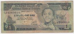 Ethiopia P 30 B - 1 Birr 1976 - Fine - Ethiopie