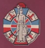 220718 - MILITARIA COCARDE LA BRITANNIA Journée Nationale Anciens Combattants  Amitié Franco Britannique - Army & War
