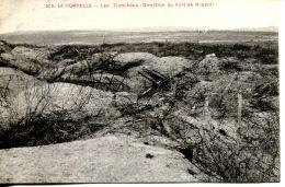 N°63661 -cpa La Pompelle -les Trancèées (direction Du Fort De Nogent) - Guerra 1914-18