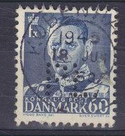 Denmark Perfin Perforé Lochung (P26) 'PL' Paul Lehmann (With Variety ERROR), København Fr. IX. Stamp (2 Scans) - Abarten Und Kuriositäten