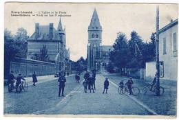 Leopolsburg - Kerk En Het Postkantoor 1931 (Geanimeerd) - Leopoldsburg