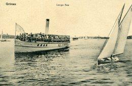 GERMANY -  Grunau  - Superb River Boat -Lange See - Treptow
