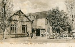 SOUTH AFRICA Royal Hotel KOKSTAD And Post Card -  1906 - Afrique Du Sud