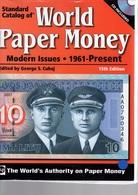 Catalogue World Paper Money Depuis 1960 état Neuf - Libros & Software